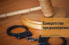 Преднамеренное банкротство: признаки и последствия для юр. и физ. лиц