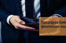 Банкротство физических лиц 2019 года: пошаговая инструкция по оформлению процедуры