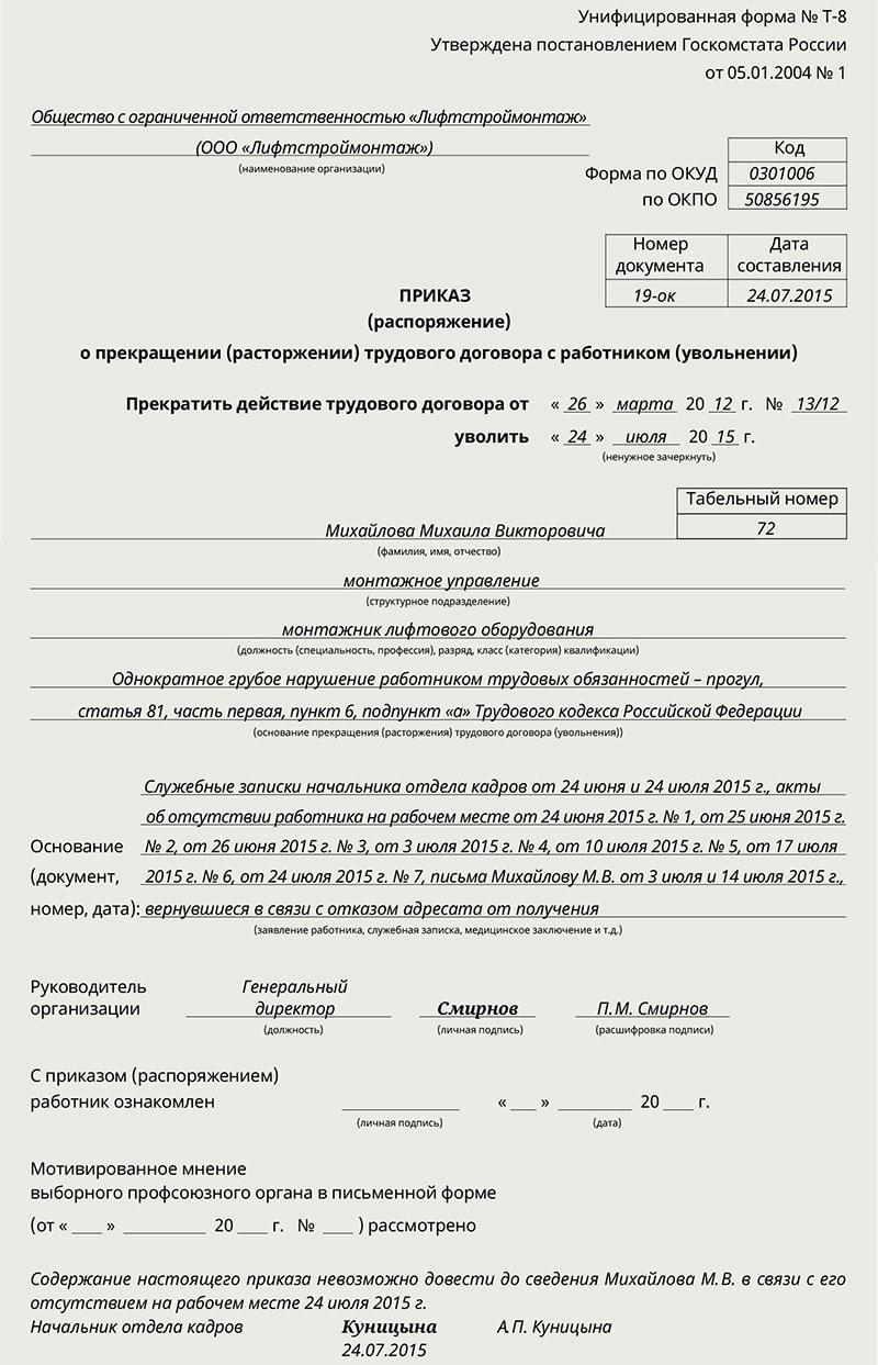 prikaz-ob-uvolnenii-za-progul-obrazec-2019