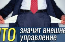 Внешнее управление как процедура банкротства: что это такое, особенности и когда вводится
