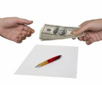 расписка о получении денежных средств образец